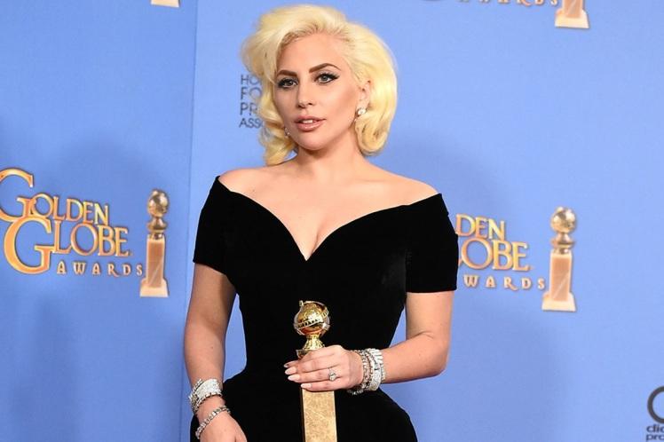 Lady Gaga 2015 Golden Globes Awards
